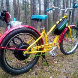 Мото- и электротранспорт - Электровелосипед круизер 36В 16Ач 500вт, 0