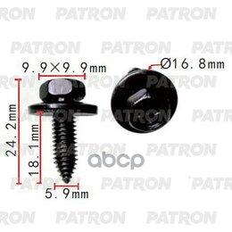 Прочие принадлежности - Винт Металлический Применяемость: Винт T=16.8 PATRON арт. P37-2242, 0