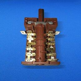 Аксессуары и запчасти - Переключатель конфорки для плиты 8709 DeLux 7поз. 250V 16A (EP185) 870613, 0