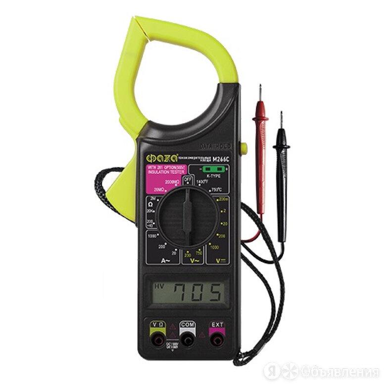 Токоизмерительные клещи FAZA M266C по цене 991₽ - Товары для электромонтажа, фото 0