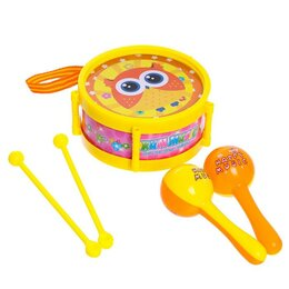 Детские наборы инструментов - Набор музыкальных инструментов «Мелодия», 5 предметов, 0