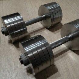 Гантели - Гантели 2х16 кг Произв-во и др.вес, 0
