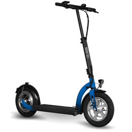 Мото- и электротранспорт - Электросамокат KUGOO ES3 11 Ah Синий, 0