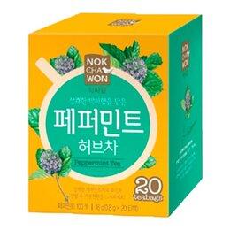 Продукты - Чай травяной мятный Nokchawon, 20 п, 0
