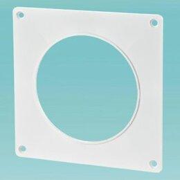 Кабеленесущие системы - Пластина настенная для круглого канала 100мм, 0