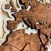 Карта мира из дерева, карта мира на стену  по цене 19500₽ - Картины, постеры, гобелены, панно, фото 6