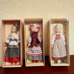 Куклы и пупсы - Оригинальные фарфоровые куклы народов России., 0
