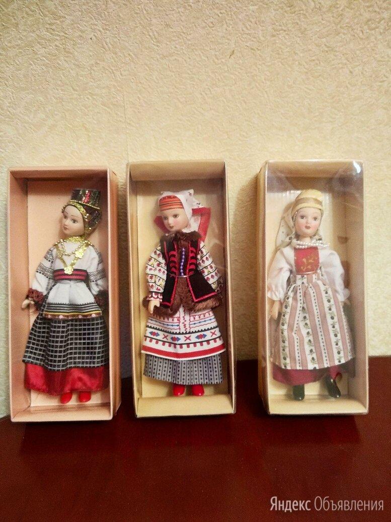 Оригинальные фарфоровые куклы народов России. по цене 99₽ - Куклы и пупсы, фото 0