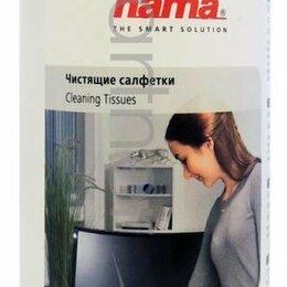 Чистящие принадлежности - Hama R1084185 Салфетки для пластика 100шт влажных, 0