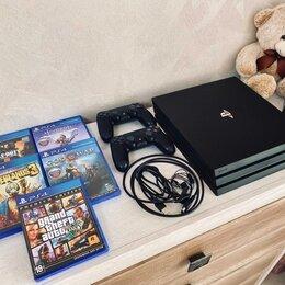 Игровые приставки - Sony Playstation PS4Pro 1Tb + 2 Dualshock 4 V2, 0