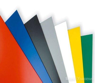 Лист с полимерным покрытием 0,7х1250х2500 мм RAL 9010 по цене 1142₽ - Металлопрокат, фото 0