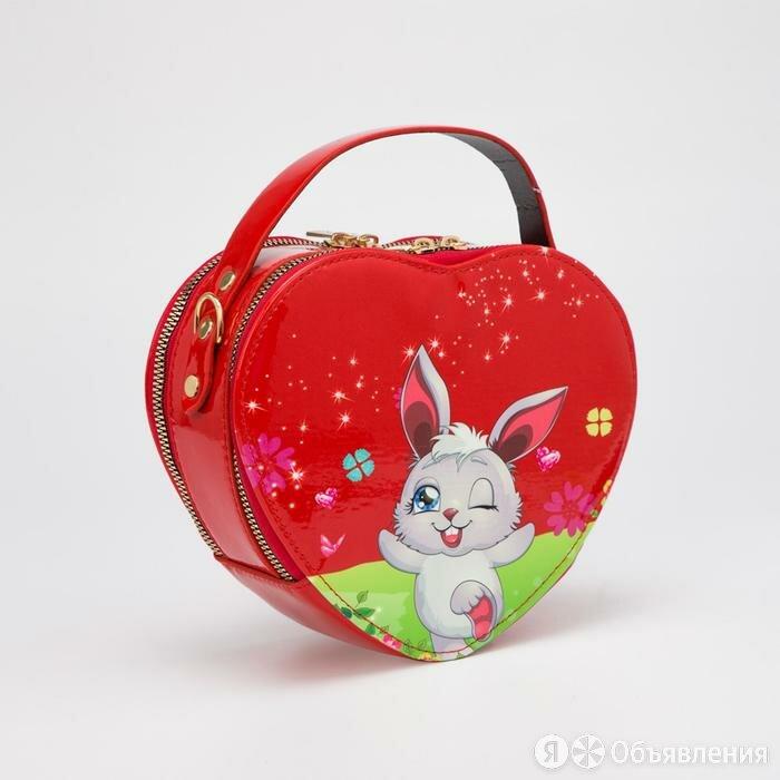 Сумка детская, отдел на молниях, регулируемый ремень, цвет красный по цене 1298₽ - Рюкзаки, ранцы, сумки, фото 0