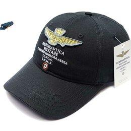 Головные уборы - Бейсболка кепка Aeronautica Militare (черный), 0