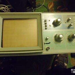 Измерительные инструменты и приборы - Двухлучевой осциллограф с1-96 в полной комплект, 0