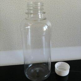 Одноразовая посуда - Пластиковая бутылка с крышкой 0,25 л, 0