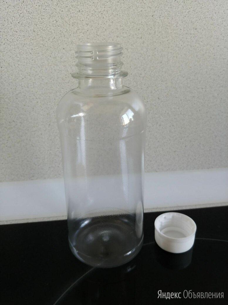 Пластиковая бутылка с крышкой 0,25 л по цене 7₽ - Одноразовая посуда, фото 0