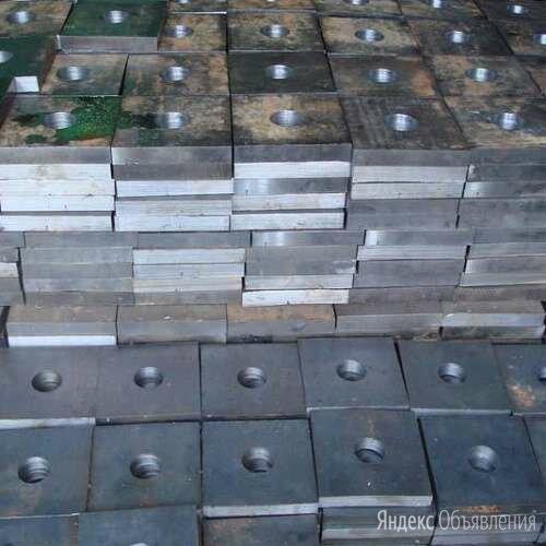 Стальные анкерные плиты М90 ГОСТ 24379.1-80 по цене 103275₽ - Металлопрокат, фото 0