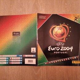Спортивные карточки и программки - Panini Полностью заполненный альбом Чемпионат Европы 2004, 0