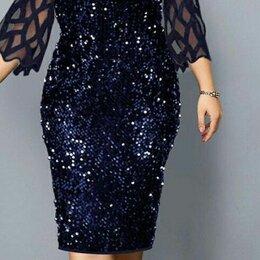 Платья - Вечернее платье с пайетками р-ры 46-60, 0