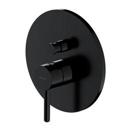 Краны для воды -  Встраиваемый смеситель для ванны Omnires Y Y1235BL (черный матовый), 0
