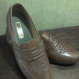 Туфли - Туфли мужские натуральная кожа пр-во Тунис размер 43 новые, 0