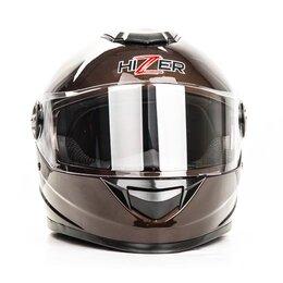 Спортивная защита - Шлем мото HIZER  B565, 0
