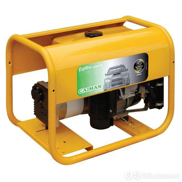 Генератор бензиновый Caiman Explorer 6510XL27 по цене 135188₽ - Электрогенераторы и станции, фото 0