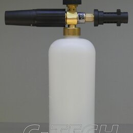 Мойки высокого давления - Пенная насадка LS3 для мойки Karcher с пластиковым адаптером, 0