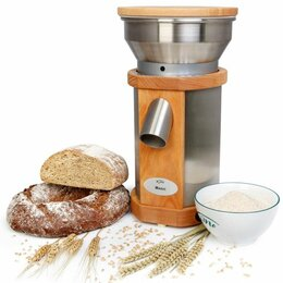 Кухонные комбайны и измельчители - Мельница для зерна KoMo Fidibus Magic (электрическая), 0