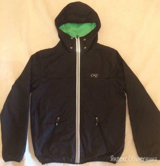 Ветровка/куртка чёрная с капюшоном next р.164 по цене 1500₽ - Куртки и пуховики, фото 0