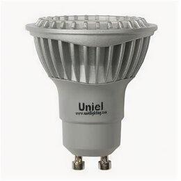 Лампочки - Лампа светодиодная Uniel GU10 5W 4500K JCDR LED-JCDR-5W/NW/GU10/FR 07251, 0
