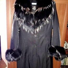 Пальто - Orsa пальто с меховым капюшоном, 0