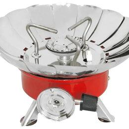 Туристические горелки и плитки - Плитка газовая Energy GS-100XL металлик., 0