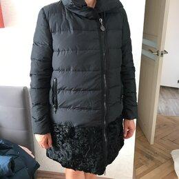 Пуховики - Пуховик осенний зимний Moncler, оригинал, 0