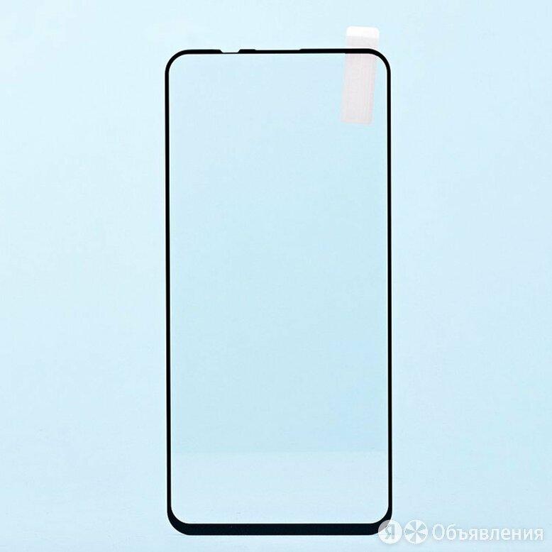 """Защитное стекло Full Screen RockBox 2,5D для """"Huawei Honor X10"""" (5) (black) по цене 299₽ - Защитные пленки и стекла, фото 0"""
