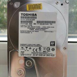Жёсткие диски и SSD - HDD 2000 GB для компьютера , 0