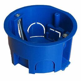 Упаковочные материалы - Коробка установочная СП d70х40 без винтов пластик. лапки для г/к Epplast..., 0