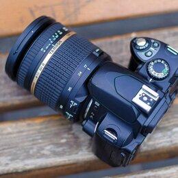 Фотоаппараты - Зеркальный фотоаппарат Nikon d40x и tamron 17-50 2.8, 0