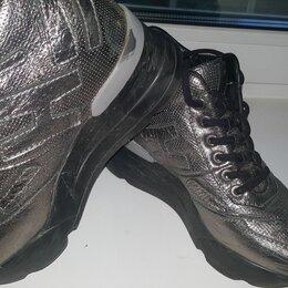 Ботинки - Берцы-кросовки кожаные бк001, 0