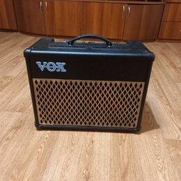 Гитарное усиление - Гитарный комбоусилитель vox , 0