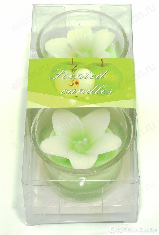 Свечи ароматические Н 28 Цветок (2шт/уп) по цене 115₽ - Ароматерапия, фото 0