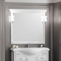 Мебель - Зеркало Опадирис Риспекто 100x100, цвет белый матовый, 0