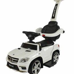 Каталки и качалки - Детская каталка Mersedes-Benz GL63 (Белый), 0