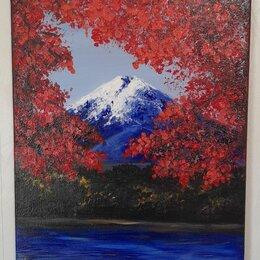 Картины, постеры, гобелены, панно - Гора фудзияма осень, 0