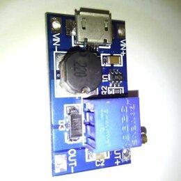 Радиодетали и электронные компоненты - DC-DC повышающий преобразователь на MT3608, 0