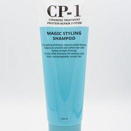 Маски и сыворотки - Протеиновый шампунь для непослушных и вьющихся волос Esthetic House CP-1 Magic S, 0