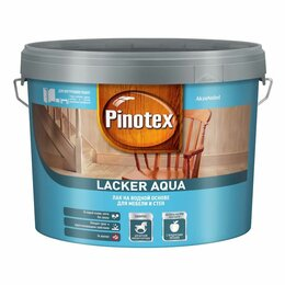 Масла и воск - Интерьерные лаки, масла PINOTEX Лак PINOTEX Lacker Aqua на водной основе для ..., 0