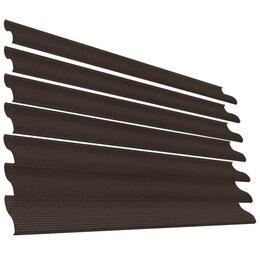 Заборы, ворота и элементы - Ламель Еврожалюзи RAL8017 Шоколад СтальнойБархат, 0