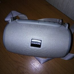 Портативная акустика - Колонка белая , 0