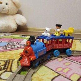 Детские железные дороги и автотреки - Limo toy маленький паровозик, 0